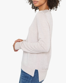 Emma Merino Wool V-Neck Sweater