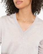 Santicler Emma Merino Wool V-Neck Sweater 2