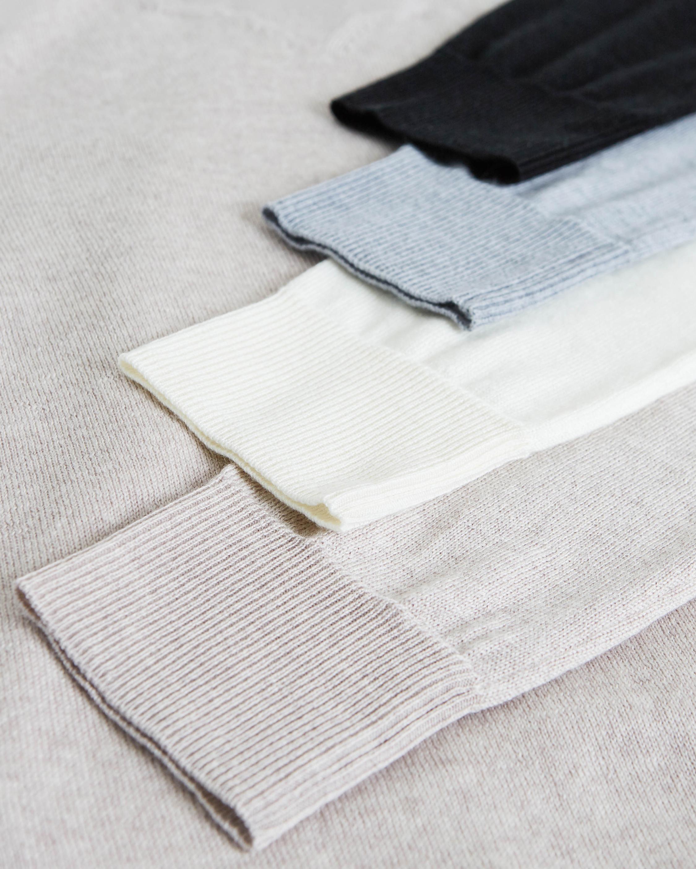 Santicler Emma Merino Wool V-Neck Sweater 3