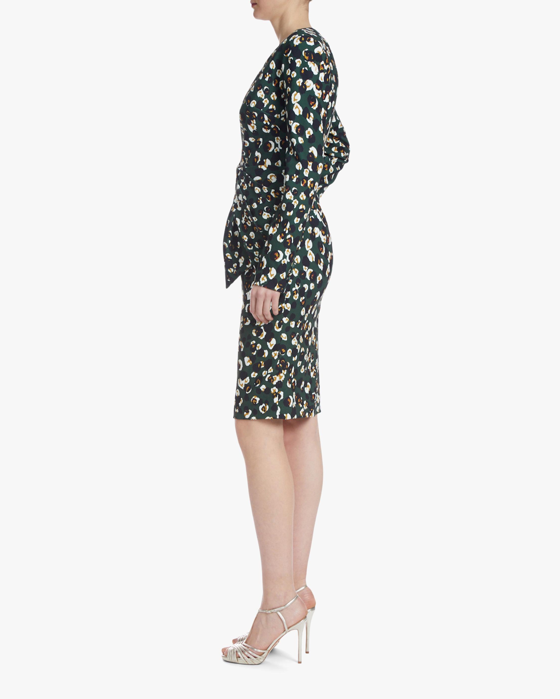 Badgley Mischka Asymmetrical-Waist Dress 2