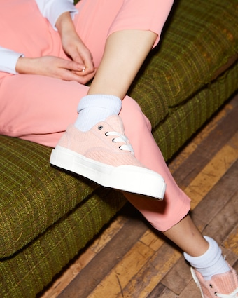 GOOD NEWS Opal Corduroy Sneaker 2