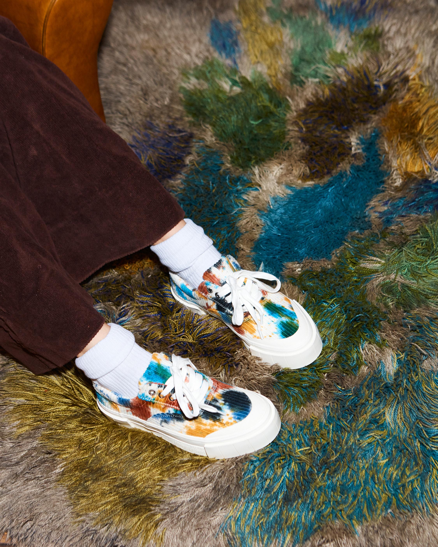 GOOD NEWS Opal Tie-Dye Corduroy Sneaker 1