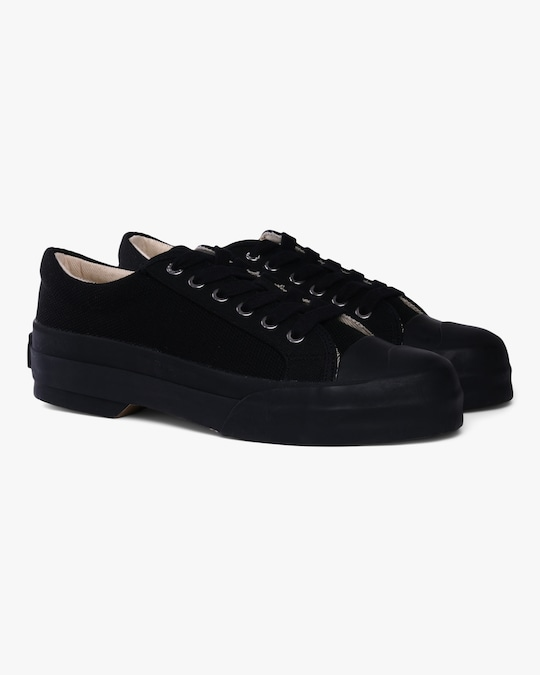 GOOD NEWS Black Sunn Sneaker 1