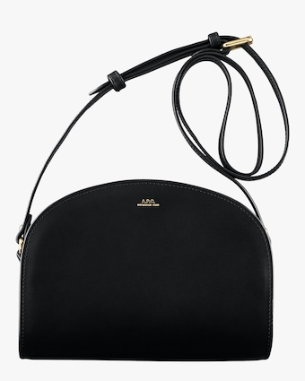 A.P.C. Demi-Lune Crossbody Bag 1