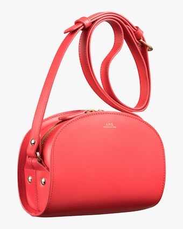 A.P.C. Mini Demi-Lune Crossbody Bag 1