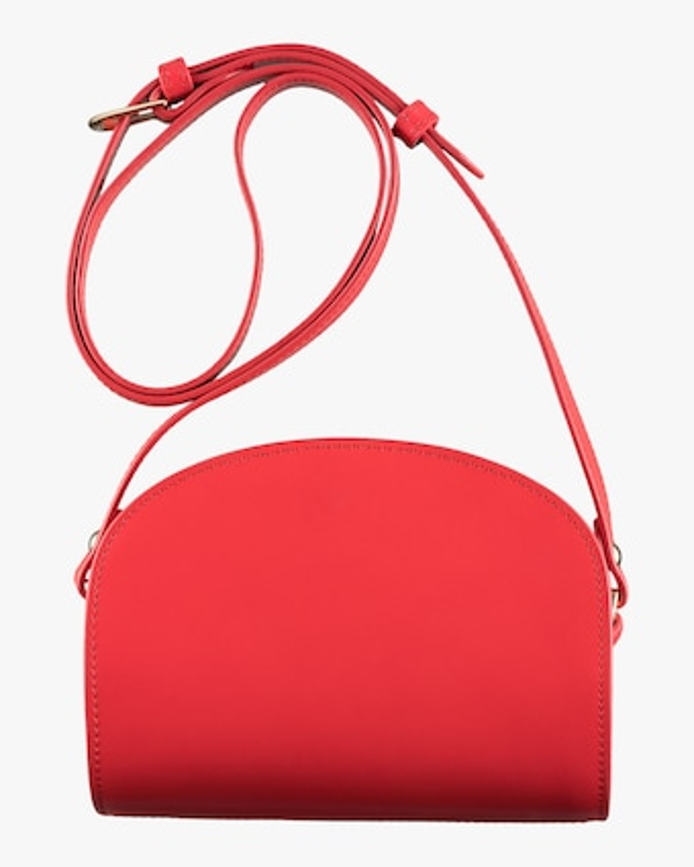 A.P.C. Mini Demi-Lune Crossbody Bag 2