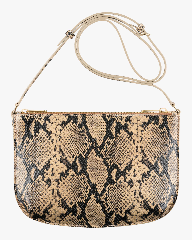 A.P.C. Snakeskin Sarah Crosbody Bag 1