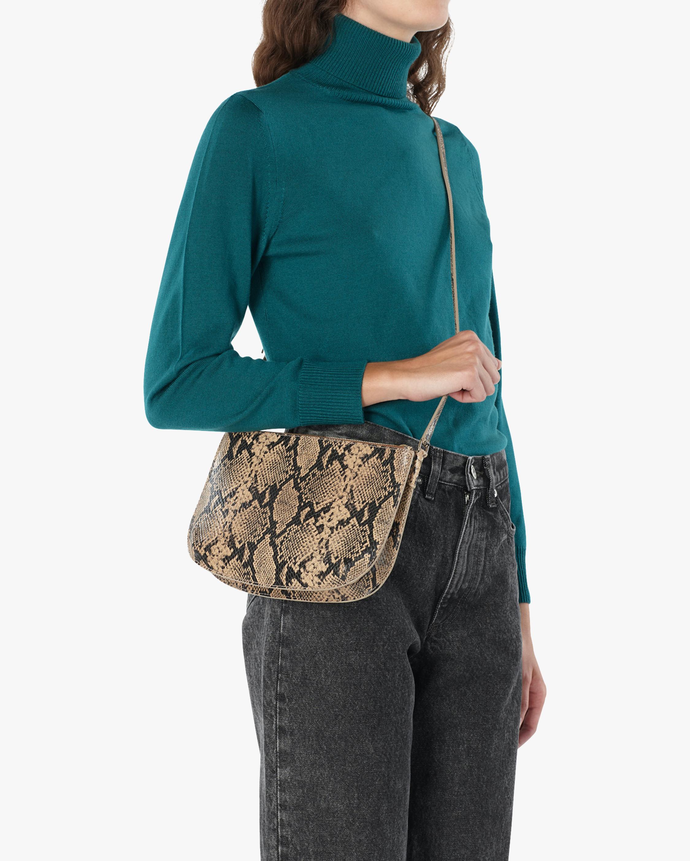 A.P.C. Snakeskin Sarah Crosbody Bag 2