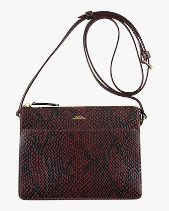 A.P.C. Snakeskin Ella Mini Bag 1