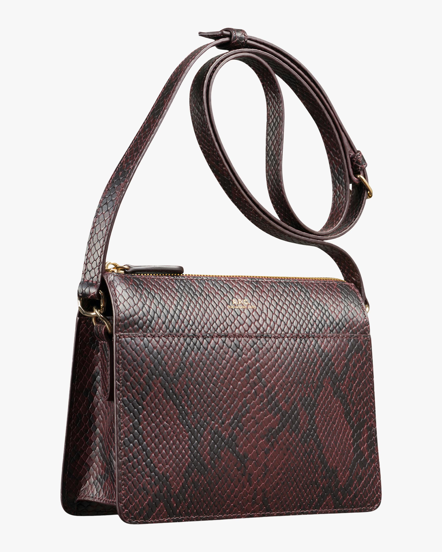 A.P.C. Snakeskin Ella Mini Bag 1