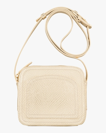 A.P.C. Gold Louisette Crossbody Bag 1