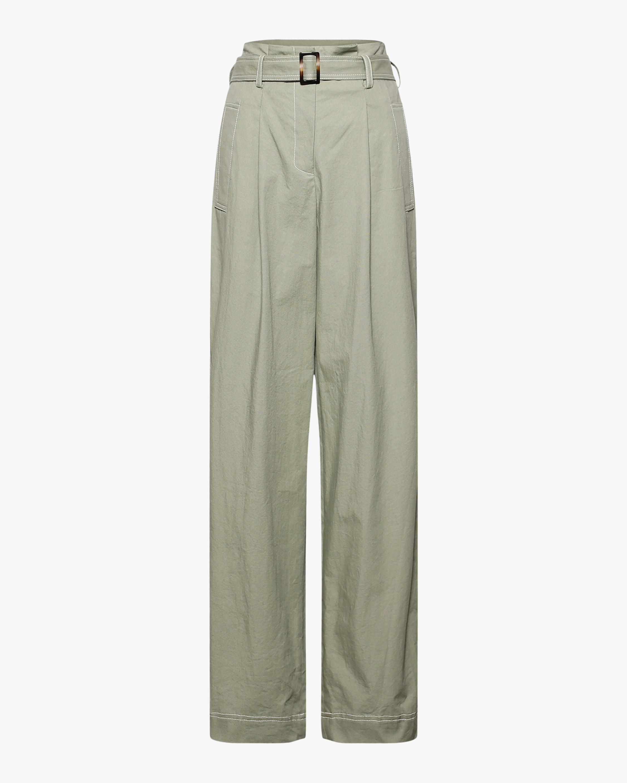 Jonathan Simkhai Belted Trench Pants 1