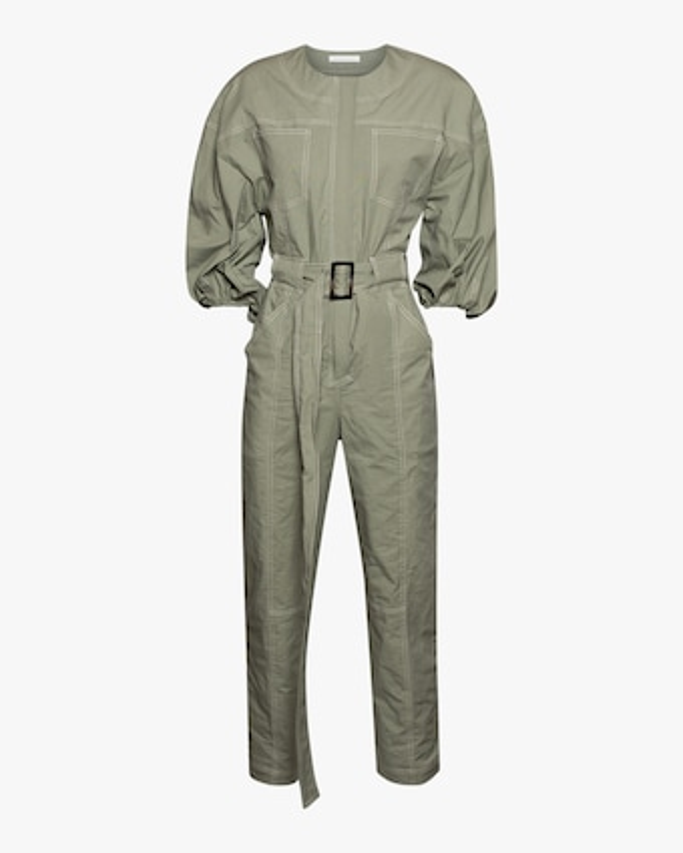 Jonathan Simkhai Annika Puff-Sleeve Jumpsuit 1