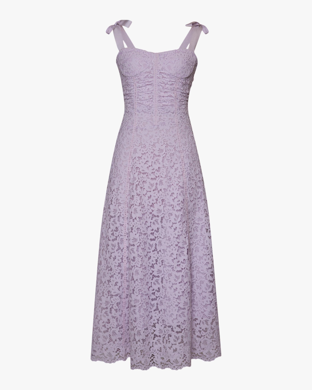 Jonathan Simkhai Poppy Bustier Midi Dress 1