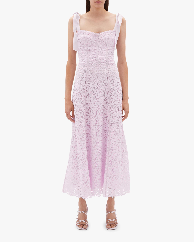 Jonathan Simkhai Poppy Bustier Midi Dress 2