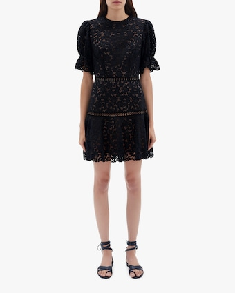 Jonathan Simkhai Holly Puff-Sleeve Mini Dress 1