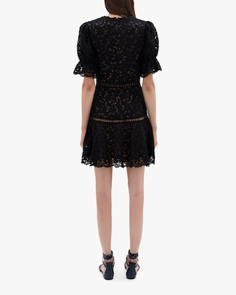Jonathan Simkhai Holly Puff-Sleeve Mini Dress 2