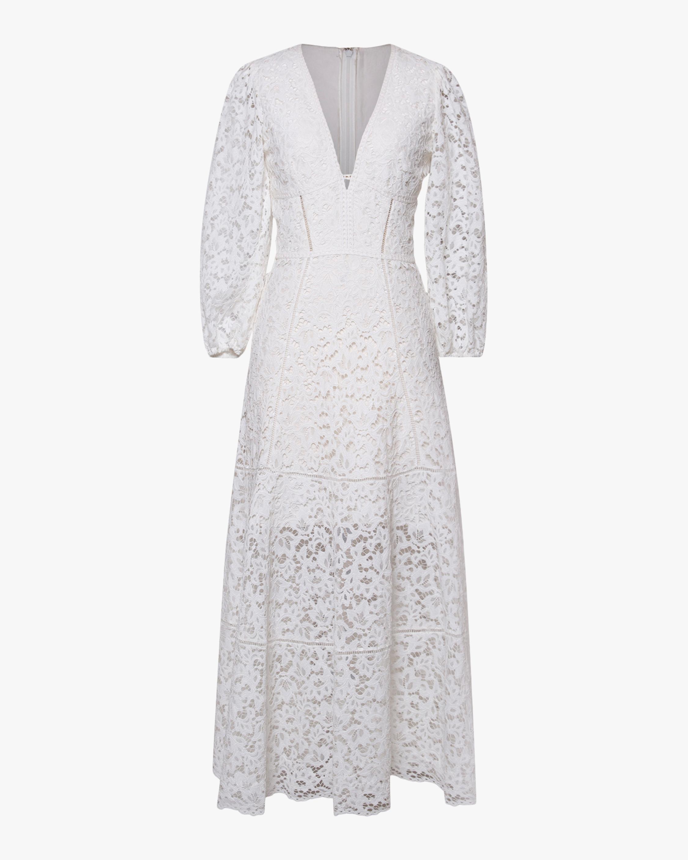 Jonathan Simkhai Lara Puff-Sleeve Midi Dress 1