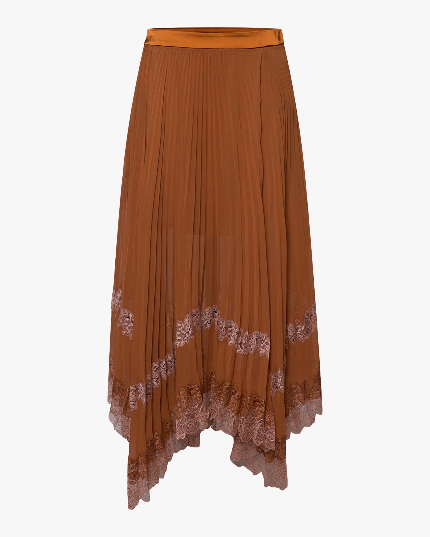 Jonathan Simkhai Pleated Skirt 1
