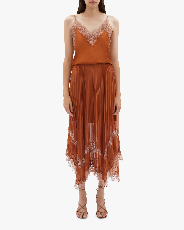 Jonathan Simkhai Pleated Skirt 2