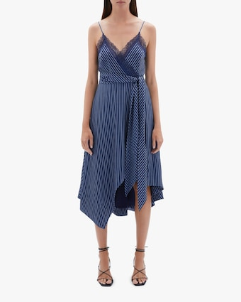 Jonathan Simkhai Emma Sleeveless Handkercheif Dress 2