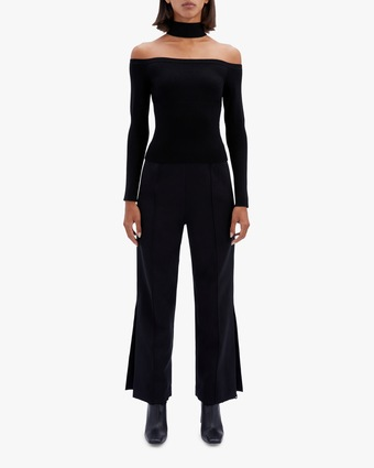 Jonathan Simkhai Lila Cold-Shoulder Top 1