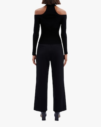 Jonathan Simkhai Lila Cold-Shoulder Top 2