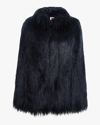 House of Fluff Yeti Convertible Cape Coat 1