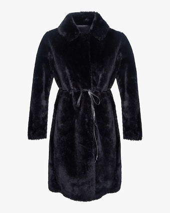 House of Fluff Teddy Reversible Faux Fur Coat 1