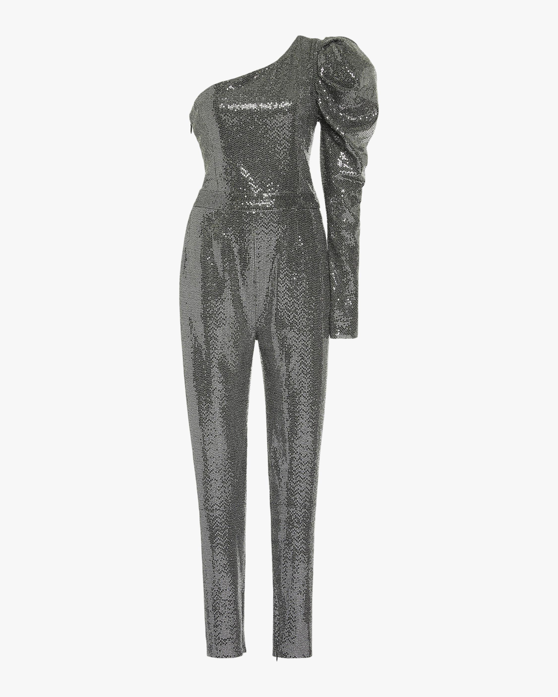 SemSem One-Sleeve Sequin Jumpsuit 1