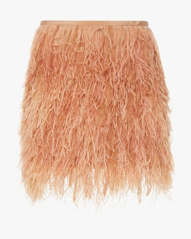 SemSem Feather Mini Skirt 1