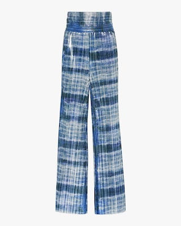 SemSem Tie-Dyed Wide-Leg Pants 1