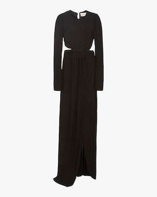 SemSem Cutout Pleated Gown 1