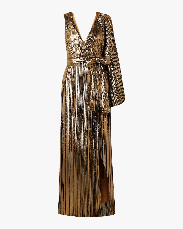 SemSem One-Sleeve Wrap Gown 2