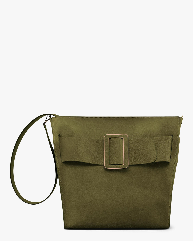 Devon Soft Suede Moto Handbag