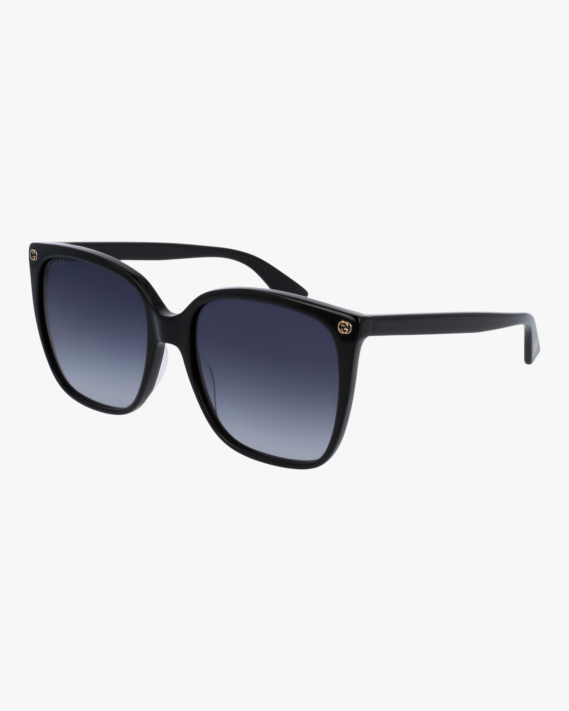 Gucci Black Square Sunglasses 2