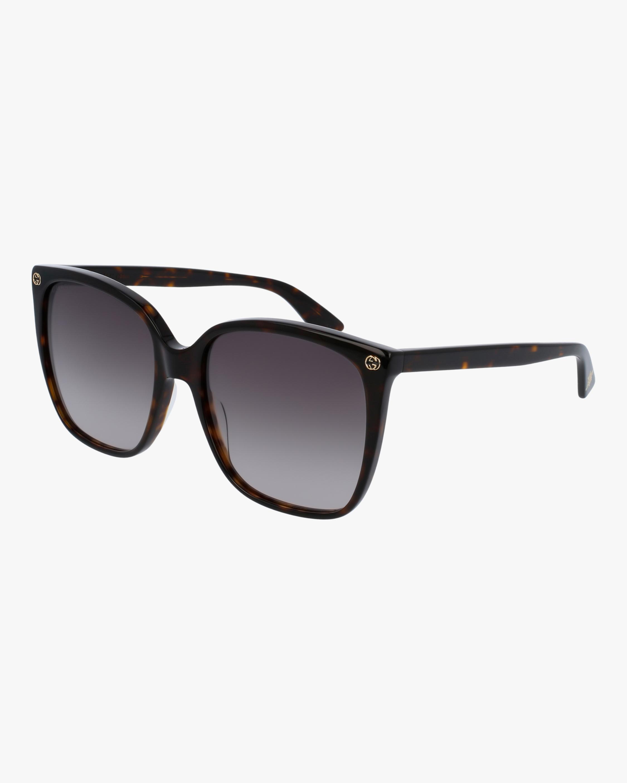 Gucci Dark Havana Square Sunglasses 2