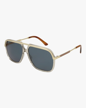 Gucci Mud Gold Caravan Sunglasses 1