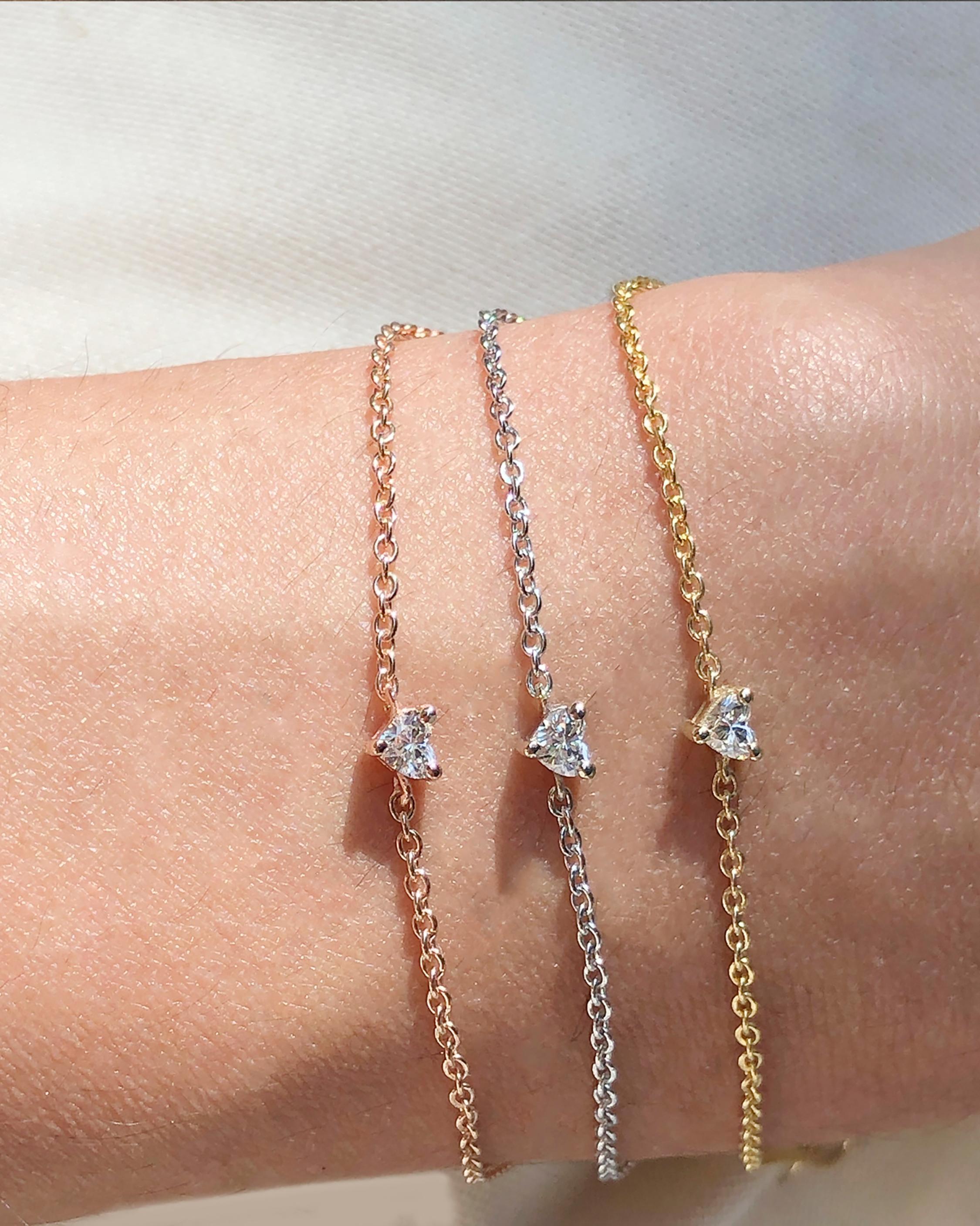 Chérut Diamond Heart Bracelet 2