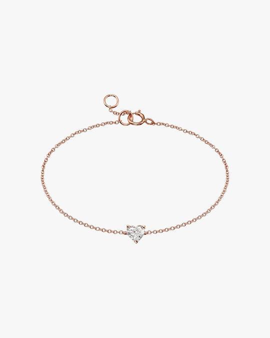Chérut Diamond Heart Bracelet 0