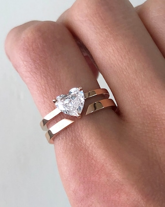 Chérut Diamond Heart Ring 2