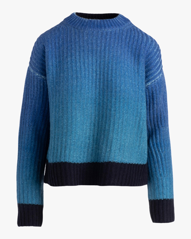 Naadam Ombre Crewneck Sweater 2