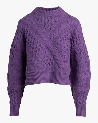 Naadam Cable Crewneck Sweater 2