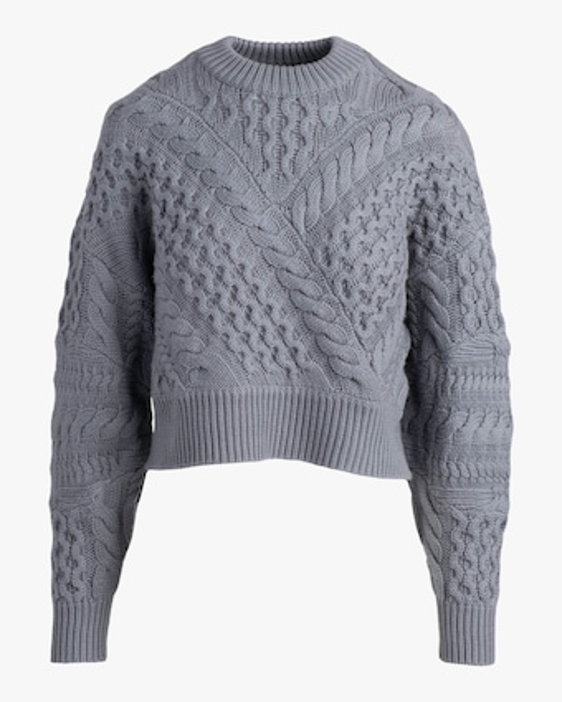 Naadam Cable Crewneck Sweater 1