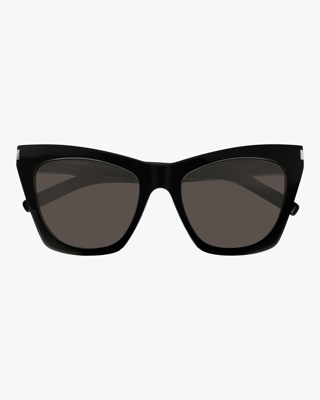 Saint Laurent Black Cat-Eye Sunglasses 1