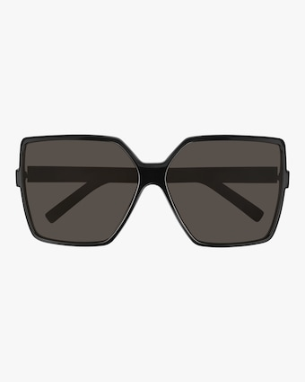 Saint Laurent Black Oversized Sunglasses 1