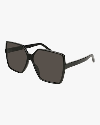 Saint Laurent Black Oversized Sunglasses 2