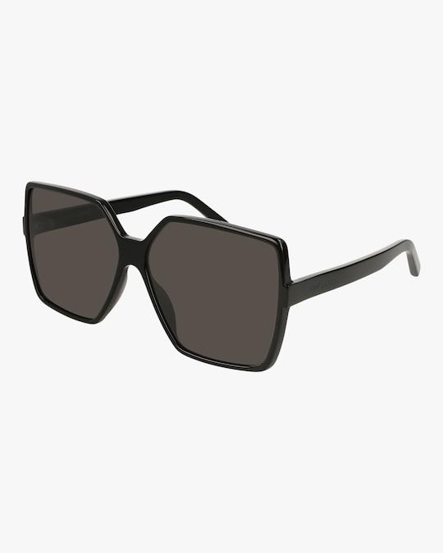 Saint Laurent Black Oversized Sunglasses 1