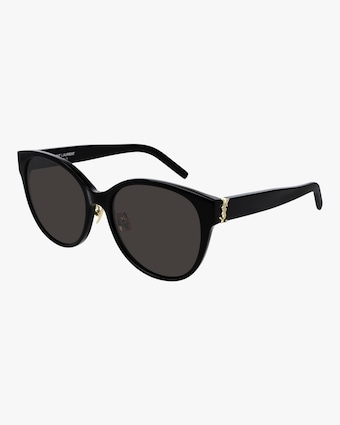 Saint Laurent Black Round Sunglasses 2
