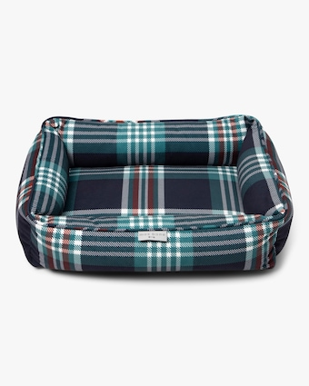 Max-Bone Medium Meadow Tartan Bed 2